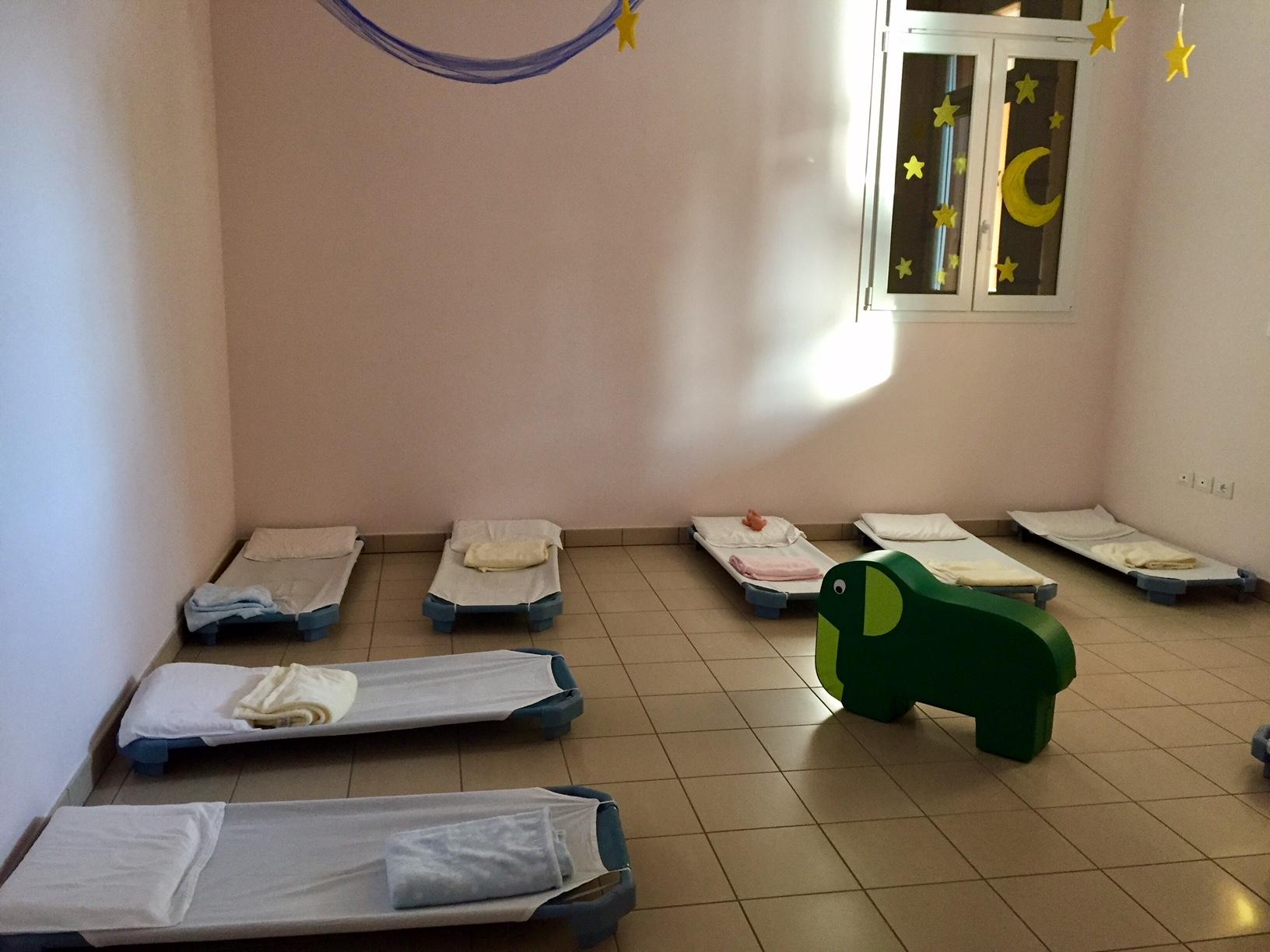 Spazi riposo della Sezione Primavera della Scuola dell'Infanzia Prospero Alpino di Marostica