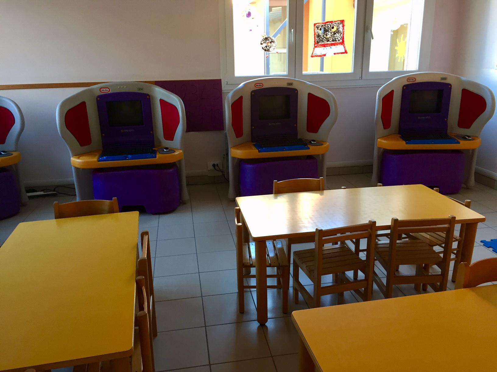 Il laboratorio informatico della Scuola dell'Infanzia Prospero Alpino di Marostica