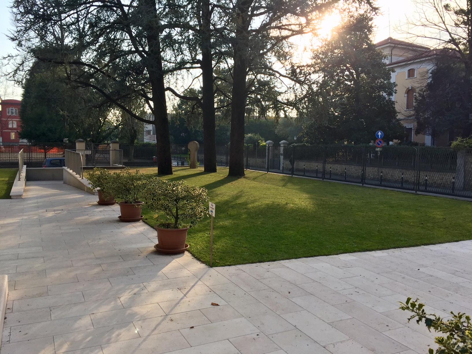 Il giardino della Scuola dell'Infanzia Prospero Alpino di Marostica